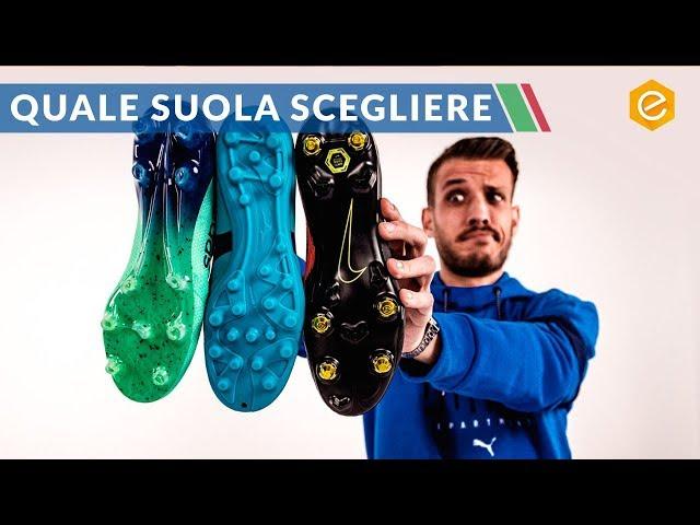 Le SUOLE delle scarpe da calcio YouTube