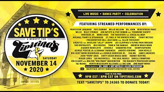 Save Tip's Benefit - 11/14/20 Tipitina's, New Orleans