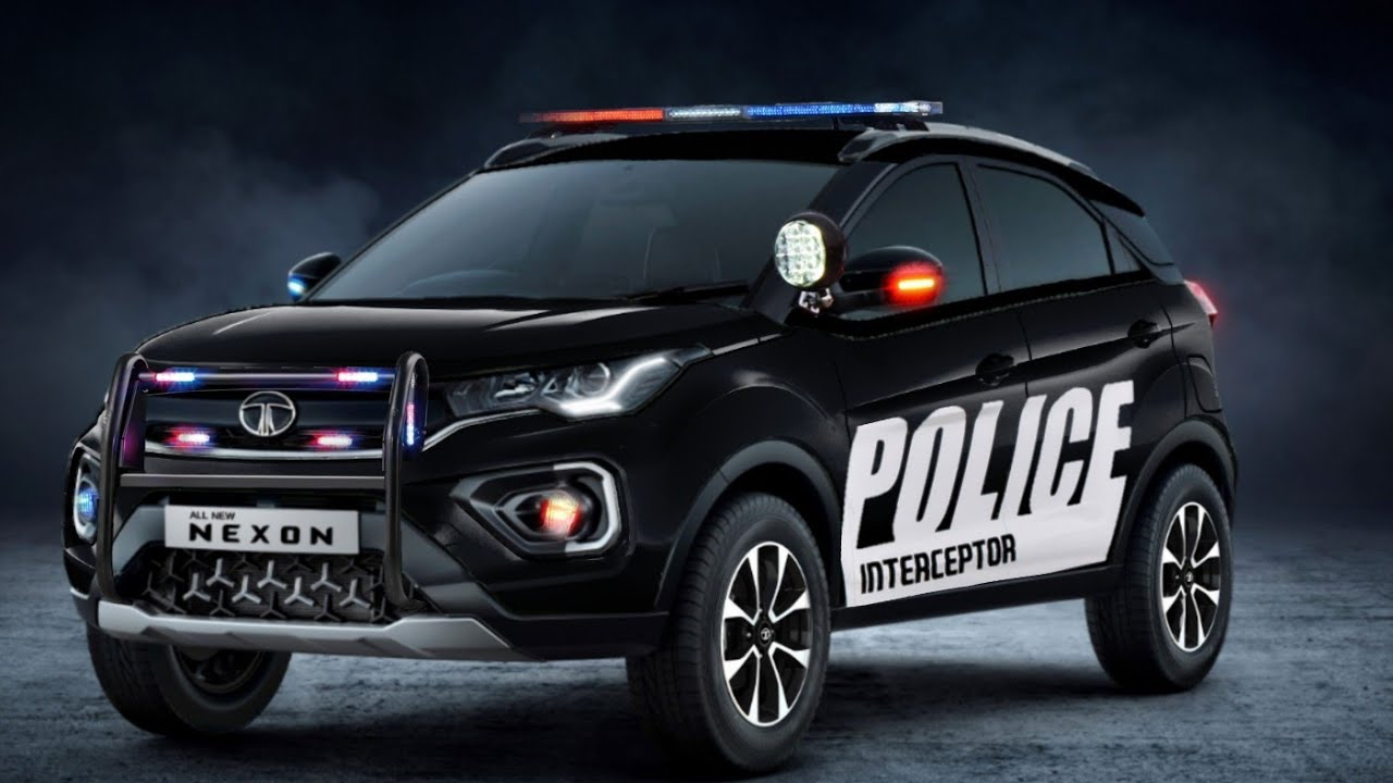 Tata Nexon Police Interceptor Render Making Video Youtube