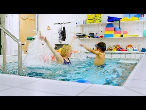 Aquatic therapy for children with Duchenne Muscular Dystrophy