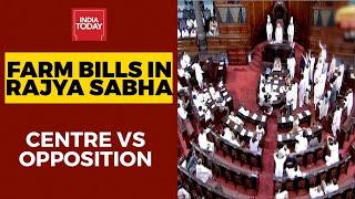 Farm Bills In Rajya Sabha: Its BJP Vs Opposition In House | India Today