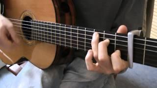 Cours de guitare - Jean-Jacques Goldman : Là-bas (1/6) Petite démo