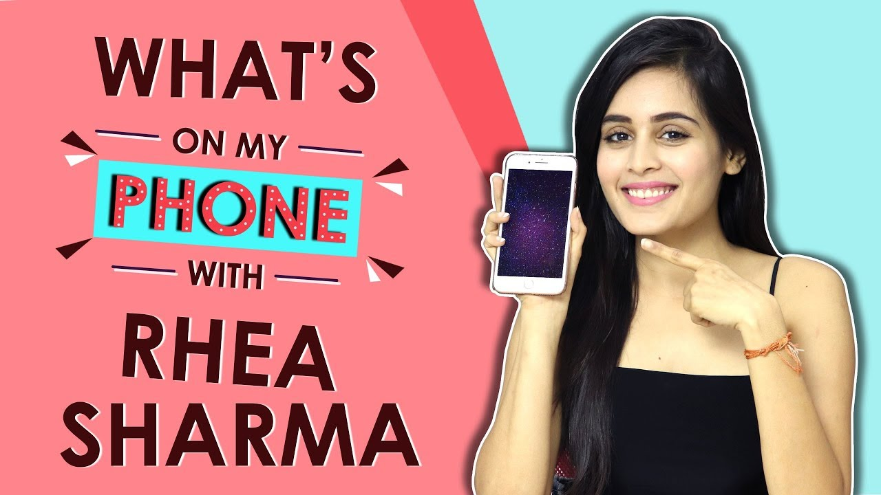 What's On My Phone With Rhea Sharma | Phone Secrets Revealed | Exclusive