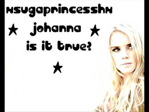 JOHANNA - IS IT TRUE? LYRICS - SongLyrics.com