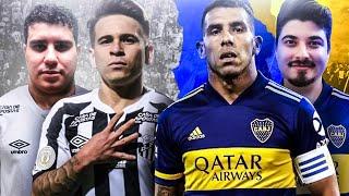SIMULAMOS SANTOS vs BOCA Libertadores 2020, quem passou pra FINAL? PES 2021 Experimento