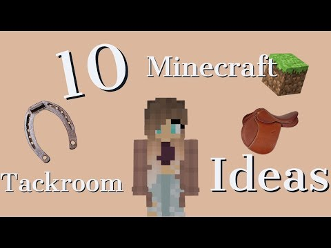 10 Minecraft Horse Tackroom Ideas For Your Stable!