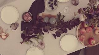 Autumn table - Wonderful memories are shaped by great company