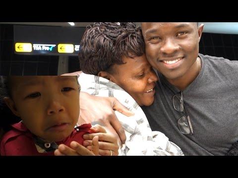 EMOTIONAL GOODBYE AT THE AIRPORT! BAKERY IN KOREANTOWN IN VIRGINIA Vlog ep.99 슬픈 이별, 미국 코리안타운 뚜레쥬르