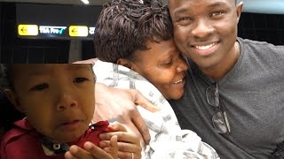 EMOTIONAL GOODBYE to KENYAN GRANDMA AT THE AIRPORT! BAKERY IN KOREANTOWN IN VIRGINIA Vlog ep.99