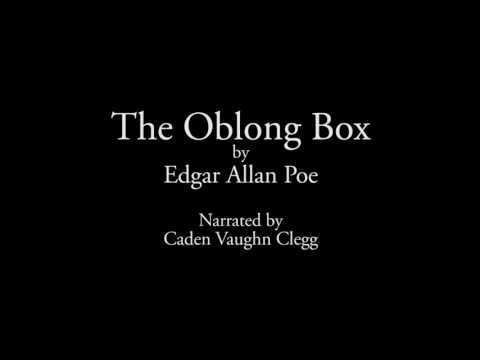 The Oblong Box by Edgar Allan Poe book