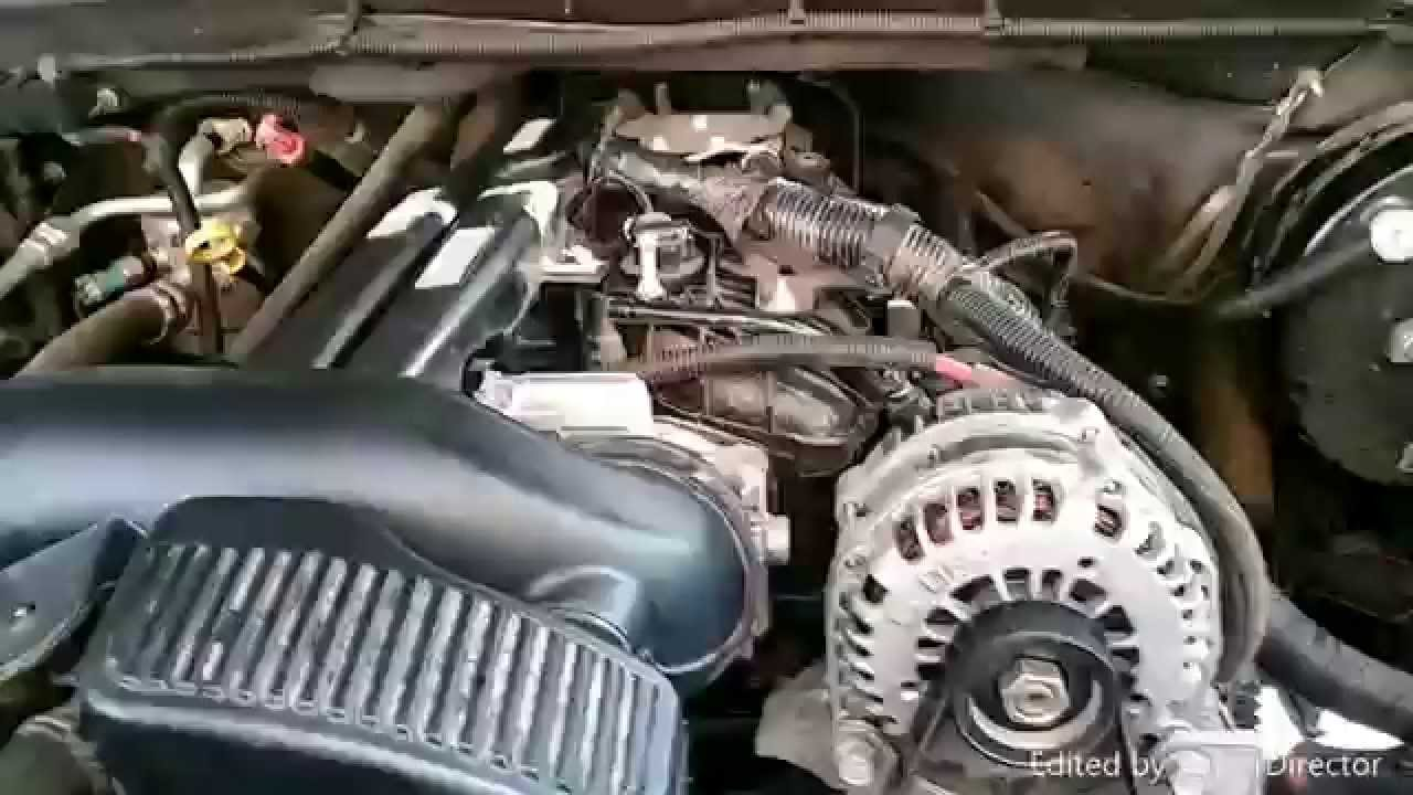 2005 Chevy Silverado Engine Diagram Oil Sensor