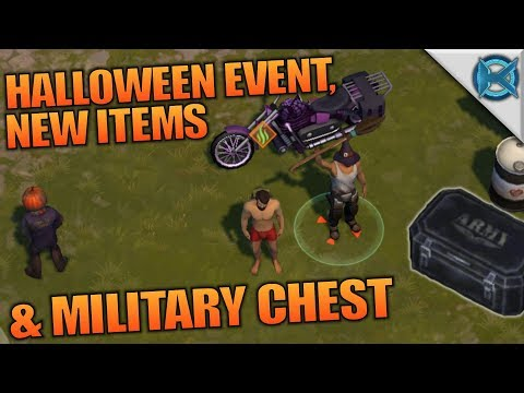 HALLOWEEN EVENT & MILITARY CHEST | Last Day on Earth: Survival | Let's Play Gameplay | S02E56