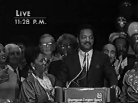 Jesse Jackson Campaign 1988 NY Democratic Primary Huntington NY