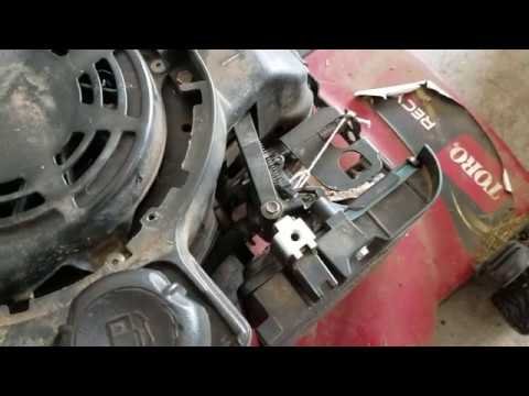air vane auto choke repair - YouTube