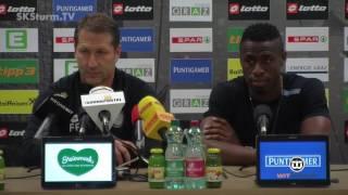 SK Sturm: Medabriefing vor SV Mattersburg (35. Runde 2015/16)
