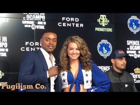 The Star Presents: IBF Champ Errol Spence Jr. vs Carlos Ocampo Press Conference @ Dallas Cowboys HQ