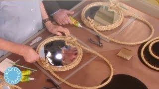 Diy Rope Mirror  - Martha Stewart
