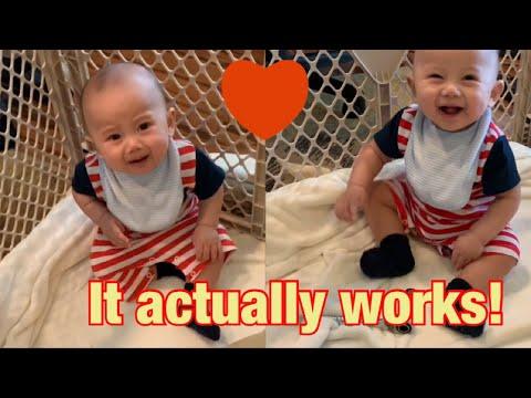 How car guys babysit, it actually works! Car dad babysitting...