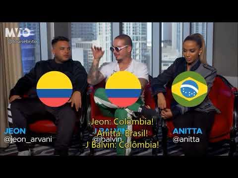 Entrevista Anitta J Balvin e Jeon para MVTO legendada