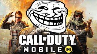 Call Of Duty MOBILE TE HA TROLLEADO