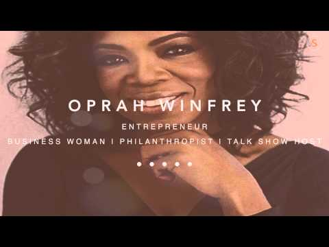 Oprah Winfrey - Don't put a ceiling on Yourself