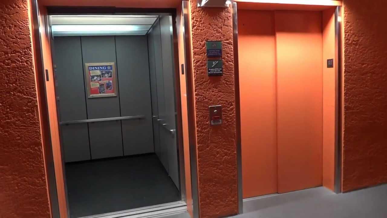 Disney World Otis Hydraulic Elevators All Star Movies