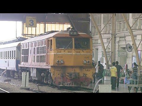 Hua Lamphong Railway Station Train Station Bangkok Thailand 2013