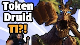 Token Druid TIER 1 WHAT?!- Hearthstone Descent Of Dragons