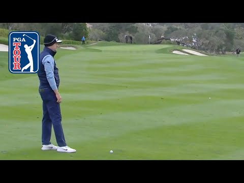 Russell Knox assessed 1-stroke penalty at Pebble Beach