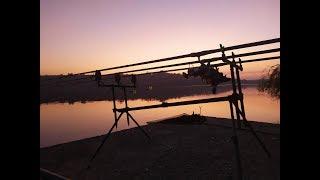Розыгрыш карпового удилища на закрытии сезона по карпу спортивный водоём лагуна Нижняя Хортица