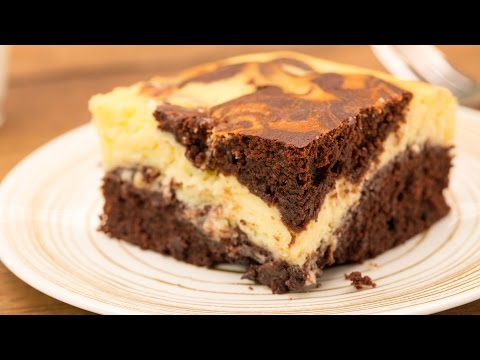 Cheesecake-Brownies – Brownie trifft Käsekuchen