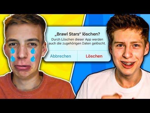 WENN ICH DU WÄRE... BRAWL STARS LÖSCHEN!! П��😱 GEGEN PUUKI! ˜� Brawl Stars Deutsch