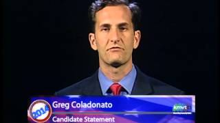 Mountain View-Whisman School Board Candidate Statement  - Greg Coladonato