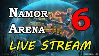 Namor Arena - Part 6 (no read last - see description) | Marvel Contest of Champions Live Stream