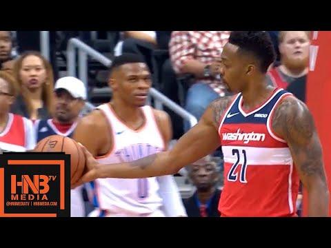 Oklahoma City Thunder vs Washington Wizards 1st Qtr Highlights   11.02.2018, NBA Season