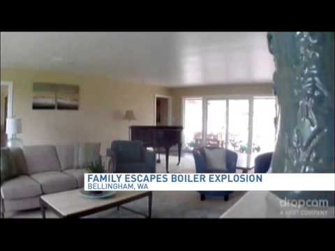 Boiler explosion at home - YouTube