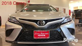 2018 Camry Key Features