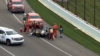Josef Newgarden Incident - Indianapolis Motor Speedway - May 14