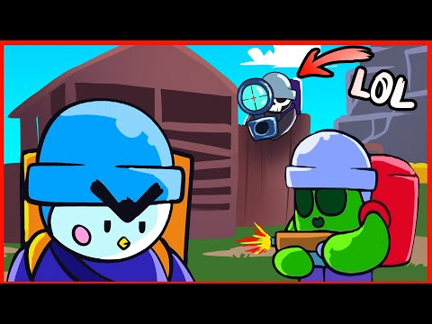 BRAWLERS IN CALL OF DUTY MOBILE - BRAWL STARS ANIMATION