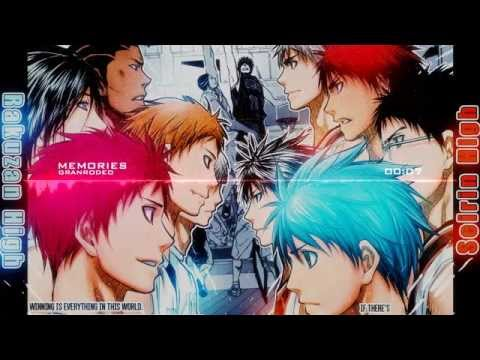 [Nightcore] Kuroko No Basket season 3 Opening 3 full