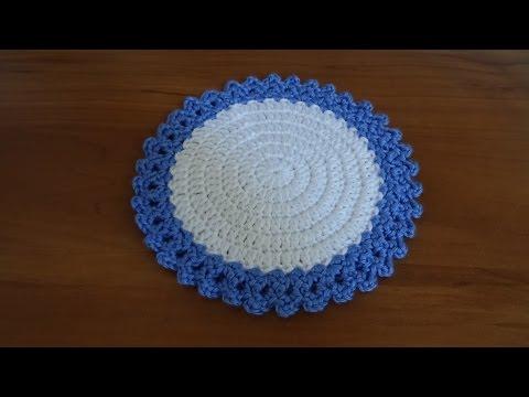 Crochet How To Crochet A Coaster Bella Coco Doovi