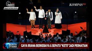 Gambar cover Gaya Iriana Jokowi Berkebaya dan Sepatu Kets Jadi Perhatian