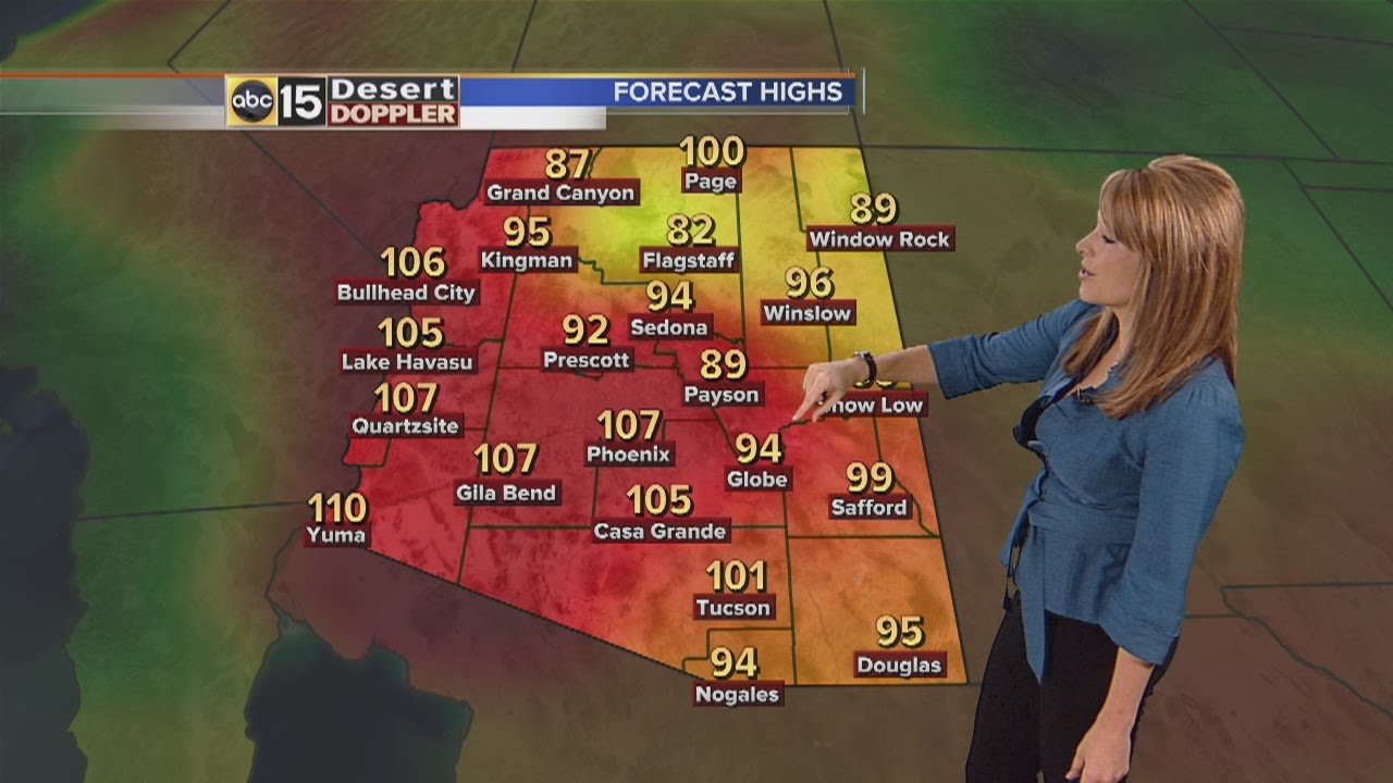 Arizona Weather Forecast Pm July 16 2014 Youtube