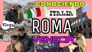 CONOCIENDO ITALIA | ROMA | VENECIA | VLOG | ITALIA 2019 | ORIGIMENEZ