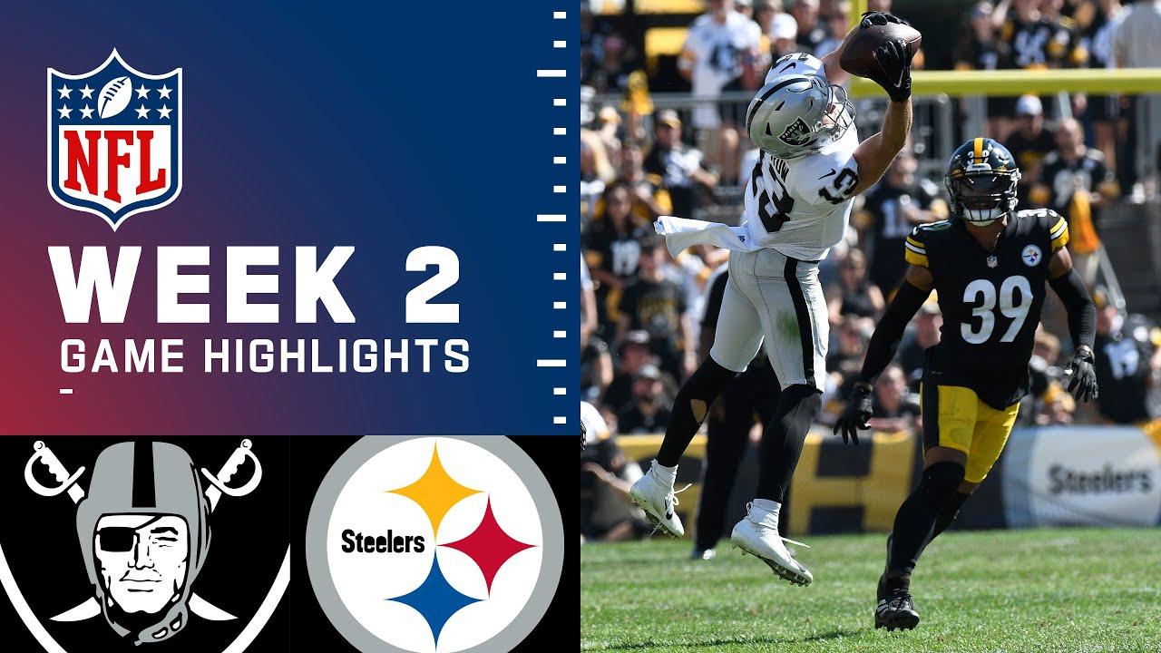 Download Raiders vs. Steelers Week 2 Highlights   NFL 2021