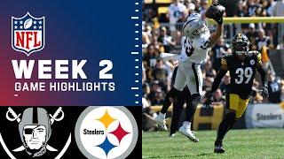Raiders vs. Steelers Week 2 Highlights | NFL 2021
