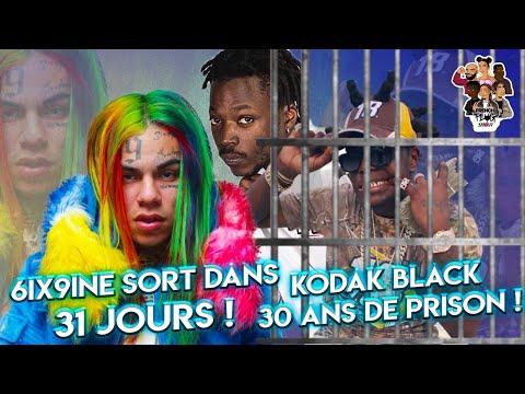 6ix9ine bientt libre ! Kodak Black risque 30 ans demprisonnement !!