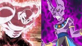 Jiren vs Beerus Power Levels (Dragon Ball Super)
