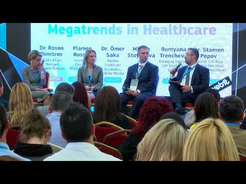 Webit.Festival Europe 2017 presents Megatrends in Healthcare panel discussion