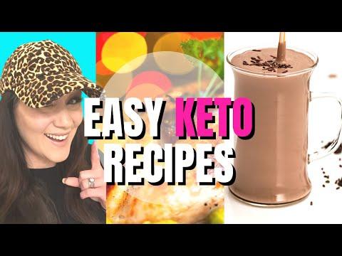 easy-keto-recipes-for-low-carb-meal-prep-|-keto-smoothie-|-keto-breakfast-|-keto-lunch